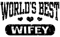 World's Best Wifey t-shirts