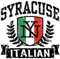 Syracuse Italian t-shirts