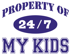Property of my Kids t-shirts