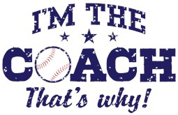 Baseball Coach t-shirts