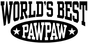 World's Best PawPaw t-shirts