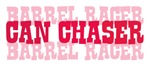 Fun cowgirl Can Chaser Barrel Racer