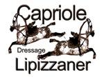 Lipizzaners -Dressage-Capriole