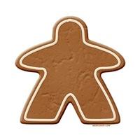 Gingerbread Meeple