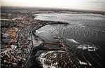 My aerial shots of Winthrop Beach & the 5 Sisters