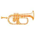 Optical Sunburst Trumpet