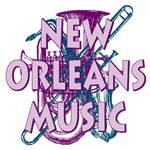 Purple New Orleans Music