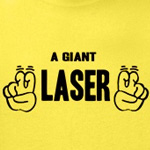 A Giant `Laser`