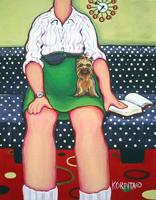 Barb & Bitsy ~ Yorkshire Terrier