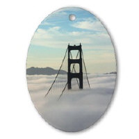 Sf Bay Gifts Souvenir Ornaments + Decorations