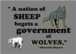 Sheep... wolves I
