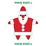 Custom Funny Santa
