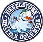Revelstoke Snowman Circle Blue
