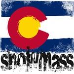 Snowmass Grunge Flag