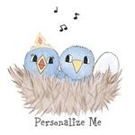 Personalized Baby Birds