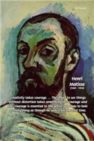 Matisse self-Portrait: Creativity & Courage of Art
