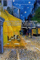 Van Gogh Cafe Art: Color like Enthusiasm