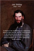 Leo Tolstoy: True Religion Morality Philosophy