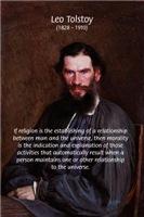 Leo Tolstoy: True Religion Morality Philosophy