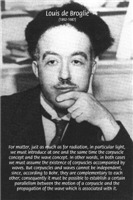 Louis de Broglie: Quantum Wave Mechanics