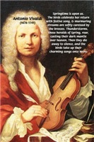 The Four seasons: Antonio Vivaldi