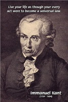 Universal Law and Life: German Philosopher Kant