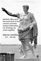 Marcus Aurelius: The Universe Connection to All