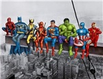 Superheroes on Girder