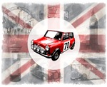Union Jack, Mini and London Icons