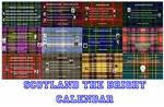 Scotland the Bright Calendar