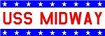 USS Midway Stars & Bars