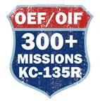 300 KC-135 Missions