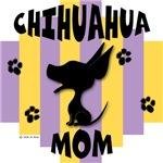 Chihuahua Mom Yellow/Purple Stripe