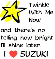 Twinkle With Me Now