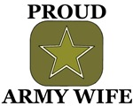 Army Wife Star in Green