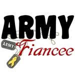 Army Fiancee Dog Tags