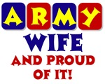 Army Wife Colorful Items