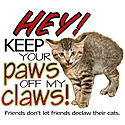 No Declawing