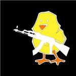 Gun Chick White