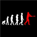 Baseball Evolution Red White