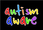 Autism Aware on dark