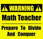 Warning: Teachers at work