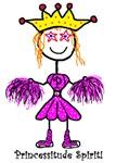Princessitude Cheerleader Outfit