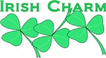 Irish Charm Dotted Shamrock