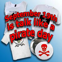 Pirates & Talk Like a Pirate Day