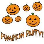 Pumpkin Party Halloween T-shirts for Kids