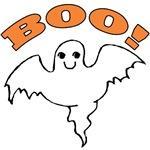 Cute Ghost T-shirt for Halloween Kids