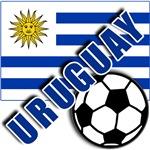 Soccer URUGUAY Soccer Tshirts