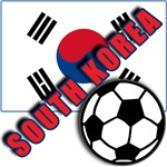 World Soccer South Korea Team T-shirts