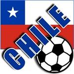 World Soccer CHILE Team T-shirts
